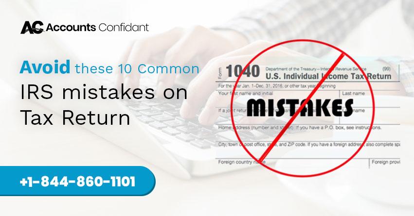 mistake on tax return