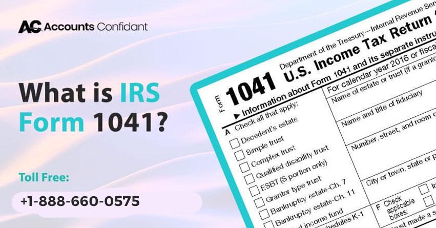 IRS Form 1041
