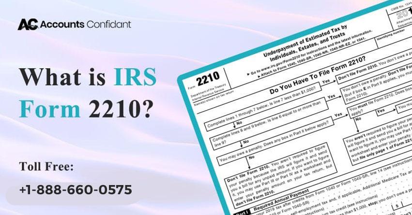 IRS Form 2210