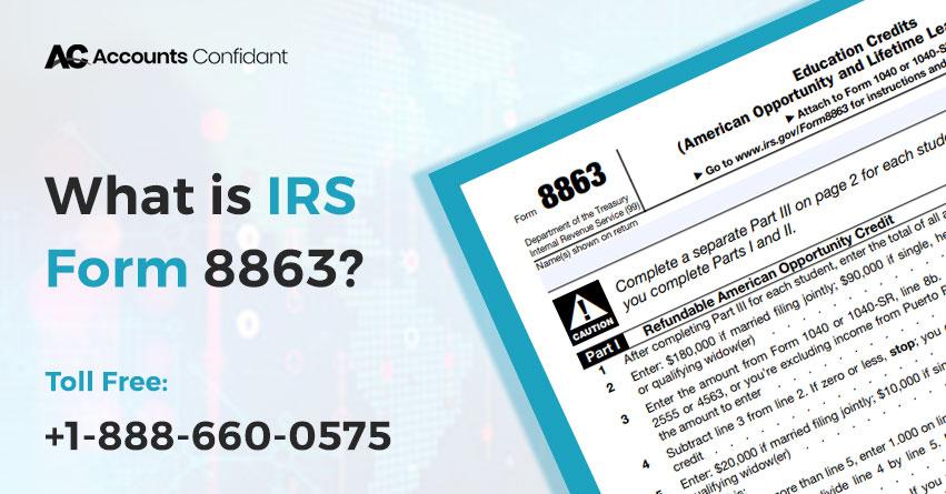IRS Form 8863
