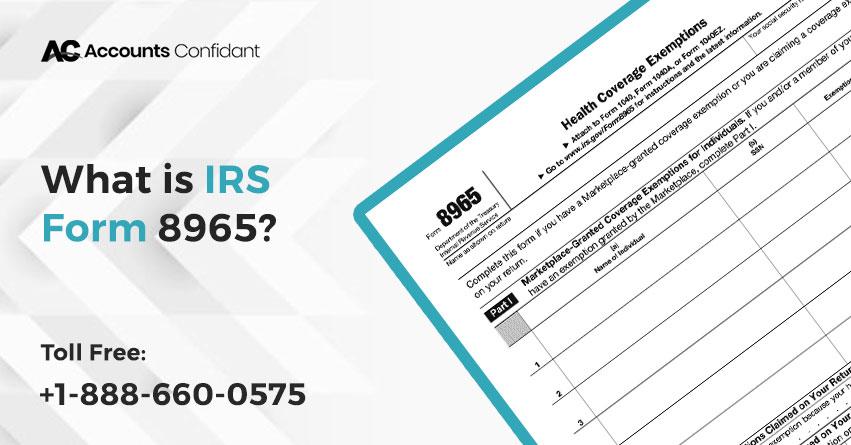 IRS Form 8965