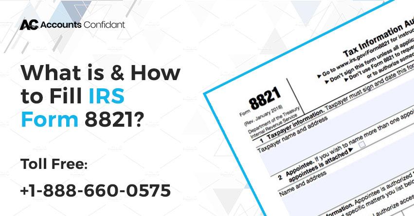 IRS Form 8821